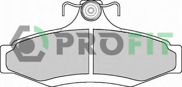 Колодки тормозные PROFIT 50001336