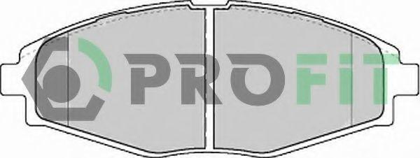 Колодки тормозные PROFIT 50001337
