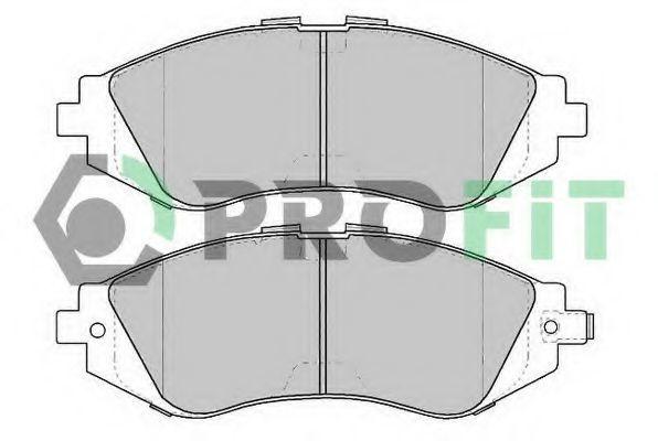 Колодки тормозные керамика PROFIT 50001369C