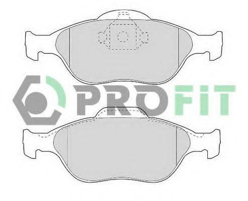 Колодки тормозные керамика PROFIT 50001394C