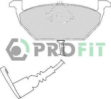 Колодки тормозные PROFIT 50001398