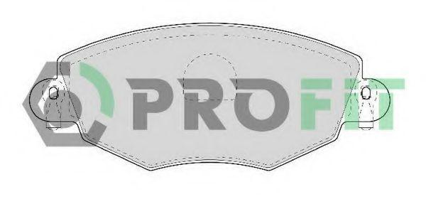 Колодки тормозные PROFIT 50001425