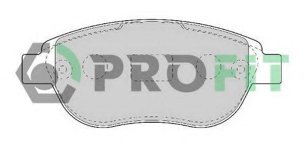 Колодки тормозные PROFIT 50001476