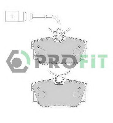 Колодки тормозные PROFIT 50001482