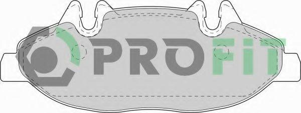 Колодки тормозные PROFIT 50001493