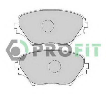 Колодки тормозные PROFIT 5000-1514