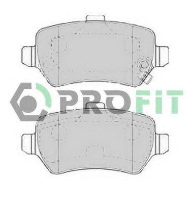 Колодки тормозные PROFIT 50001521