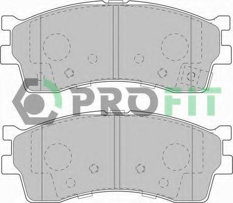 Колодки тормозные PROFIT 50001602