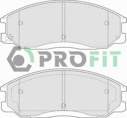 Колодки тормозные передние керамика PROFIT 50001605C