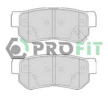 Колодки тормозные керамика PROFIT 50001606C