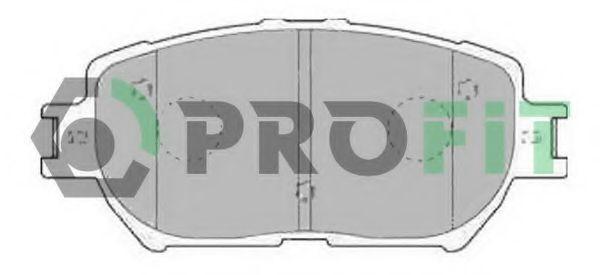 Колодки тормозные PROFIT 50001620