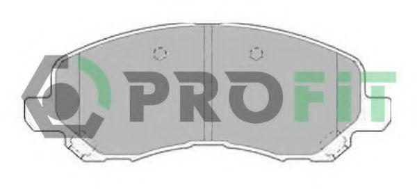 Колодки тормозные PROFIT 50001621