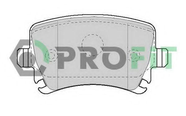 Колодки тормозные PROFIT 50001636