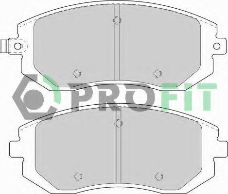 Колодки тормозные керамика PROFIT 50001639C