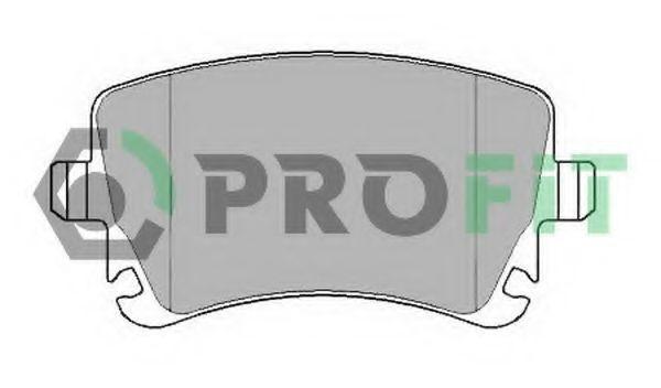Купить Колодки тормозные задние PROFIT 50001644