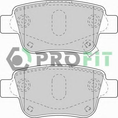 Колодки тормозные PROFIT 50001649
