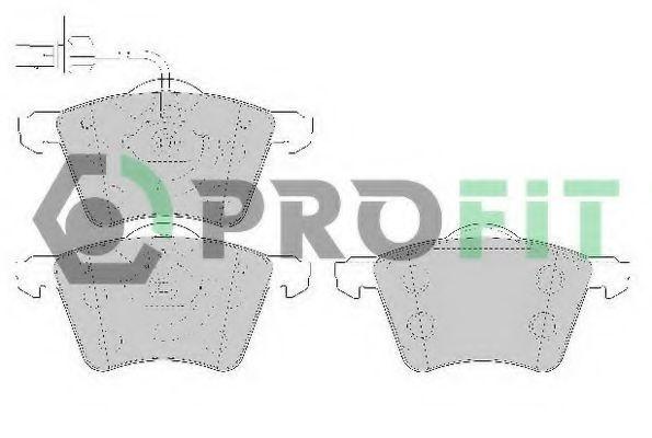 Колодки тормозные PROFIT 50001654