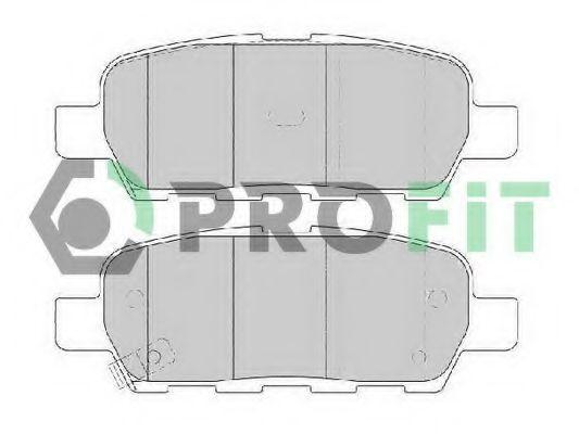 Колодки тормозные керамика PROFIT 50001693C