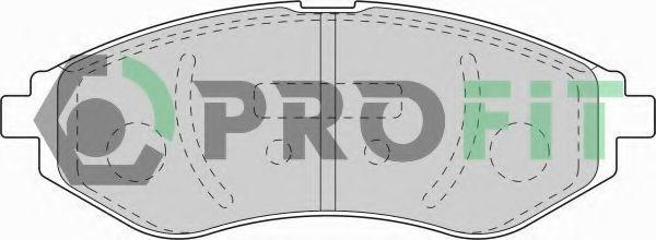 Колодки тормозные керамика PROFIT 50001699C