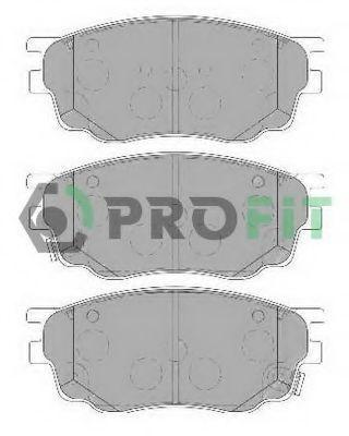 Колодки тормозные PROFIT 50001707
