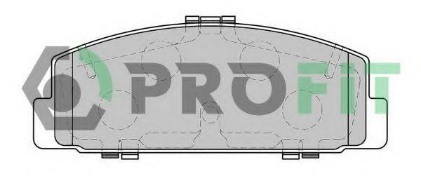 Колодки тормозные PROFIT 50001721