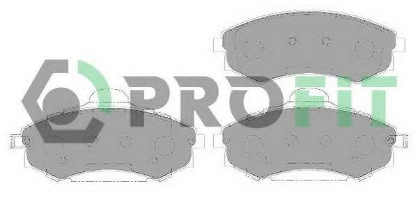 Колодки тормозные передние PROFIT 50001737