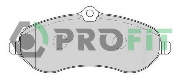 Колодки тормозные PROFIT 50001771
