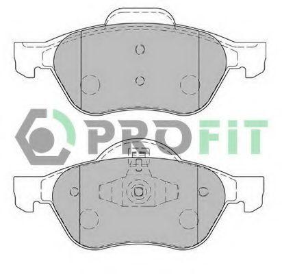 Колодки тормозные передние PROFIT 50001866