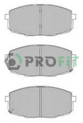 Колодки тормозные керамика PROFIT 50001869C