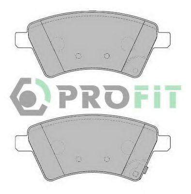 Колодки тормозные передние PROFIT 50001875