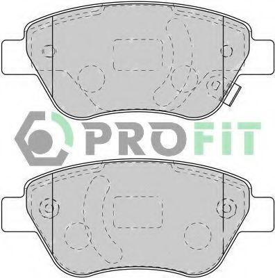 Колодки тормозные передние PROFIT 50001920