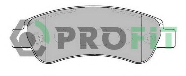 Колодки тормозные задние PROFIT 50001927
