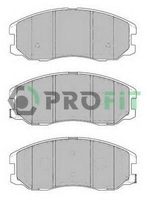 Колодки тормозные передние PROFIT 50001934