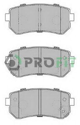 Колодки тормозные керамика PROFIT 50001956C