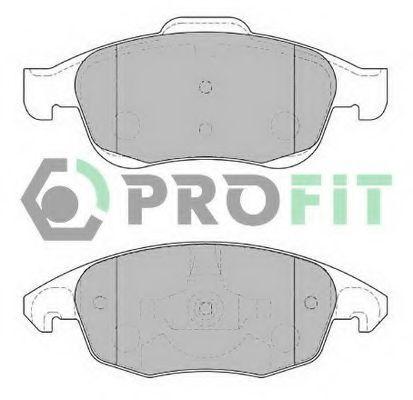 Колодки тормозные передние PROFIT 50001971