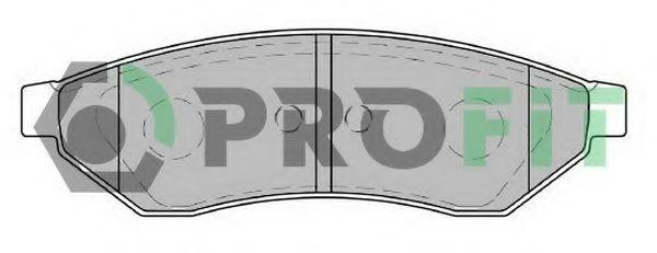 Колодки тормозные керамика PROFIT 50001986C