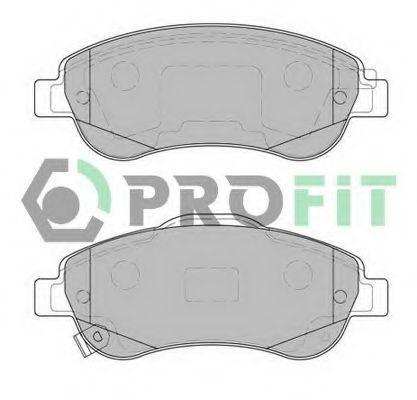 Колодки тормозные передние PROFIT 50002005