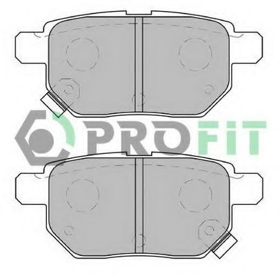 Колодки тормозные задние PROFIT 5000-2013