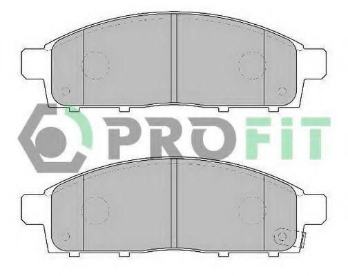 Колодки тормозные передние керамика PROFIT 50002016C