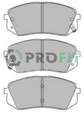 Колодки тормозные передние PROFIT 50002022