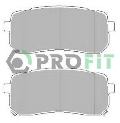 Колодки тормозные задние PROFIT 50002026