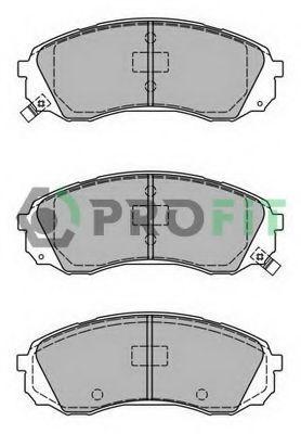 Колодки тормозные передние PROFIT 50002027