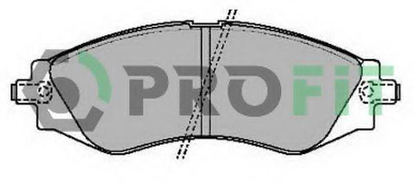 Колодки тормозные PROFIT 50002049