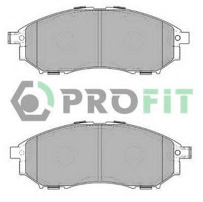 Колодки тормозные передние PROFIT 50004177