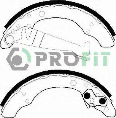 Колодки тормозные PROFIT 50010150  - купить со скидкой