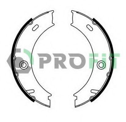 Купить Колодки тормозные барабанные PROFIT 50010625