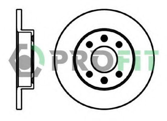 Диск тормозной PROFIT 50100055