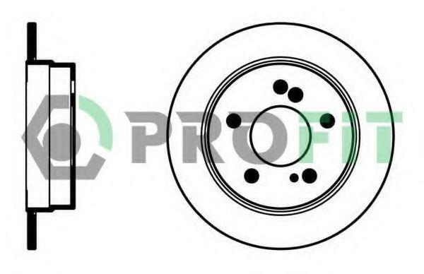 Диск тормозной PROFIT 50100122