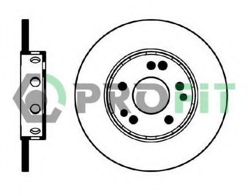 Диск тормозной PROFIT 50100124