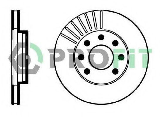 Диск тормозной PROFIT 5010-0151